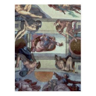 Techo 2 de la capilla de Sistine Tarjetas Postales
