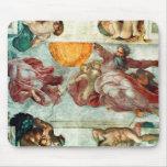 Techo 3 de la capilla de Sistine Alfombrillas De Ratones