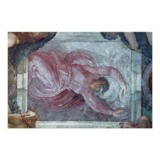 Techo 3 de la capilla de Sistine Póster