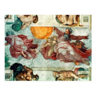 Techo 3 de la capilla de Sistine Postal