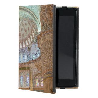 Techo abovedado interior colorido de la mezquita iPad mini protectores