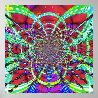 Techo abstracto 1.3c impresiones