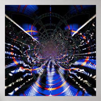 Techo abstracto 1.4a poster