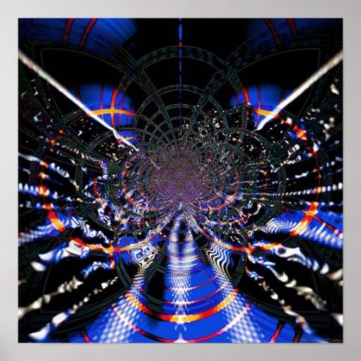 Techo abstracto 1.4a póster