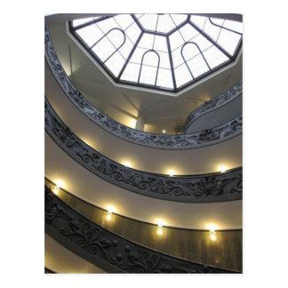 Techo arquitectónico de Roma Postal