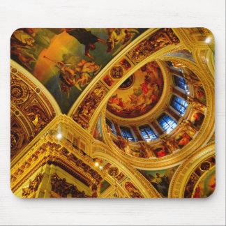 Techo de catedral tapetes de raton