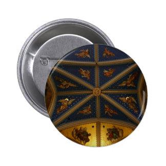 Techo de la basílica - ángeles 1 pin redondo 5 cm