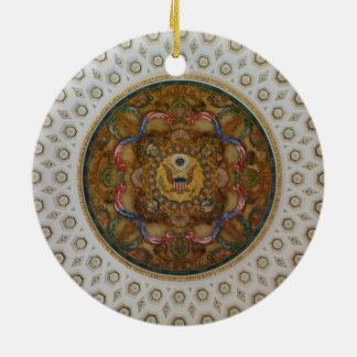 Techo de la Biblioteca del Congreso Ornamentos De Navidad