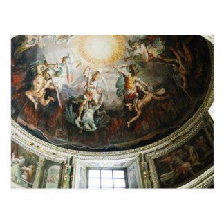 Techo de la bóveda de Vatican Postal