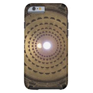 Techo de la bóveda en panteón en Roma, Italia Funda De iPhone 6 Tough
