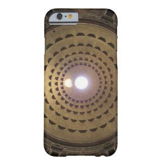 Techo de la bóveda en panteón en Roma, Italia Funda De iPhone 6 Barely There