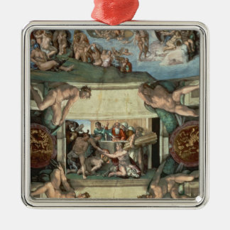 Techo de la capilla de Sistine Adorno
