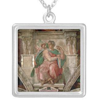 Techo de la capilla de Sistine: El profeta Isaías Colgante Cuadrado