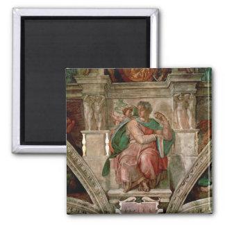 Techo de la capilla de Sistine: El profeta Isaías Imán Para Frigorifico