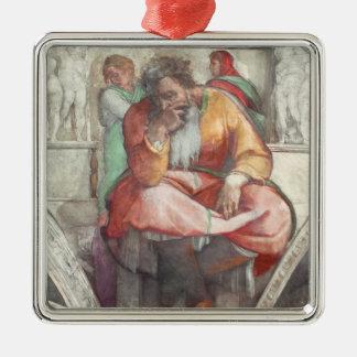 Techo de la capilla de Sistine El profeta Jeremia Adorno Para Reyes
