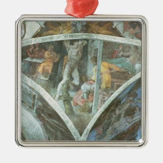 Techo de la capilla de Sistine Haman Ornamento Para Reyes Magos