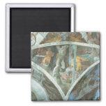 Techo de la capilla de Sistine: Haman Imán Para Frigorifico