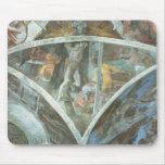 Techo de la capilla de Sistine: Haman Alfombrilla De Raton