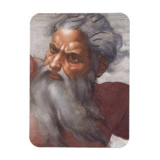 Techo de la capilla de Sistine Imán De Vinilo