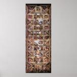 Techo de la capilla de Sistine Impresiones