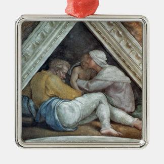 Techo de la capilla de Sistine Los antepasados de Ornamento Para Reyes Magos