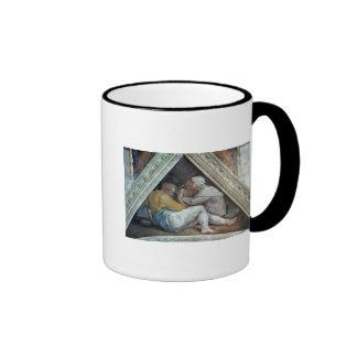 Techo de la capilla de Sistine: Los antepasados de Taza De Dos Colores