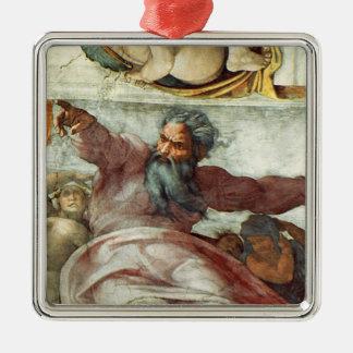 Techo de la capilla de Sistine Ornato