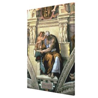 Techo de la capilla de Sistine: Sibila de Cumaean, Lona Estirada Galerías