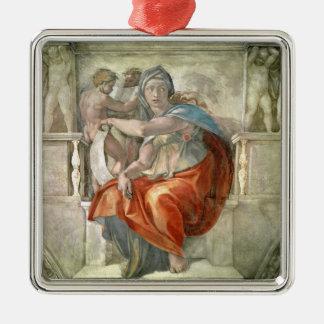 Techo de la capilla de Sistine Sibila délfica Ornamentos De Reyes Magos