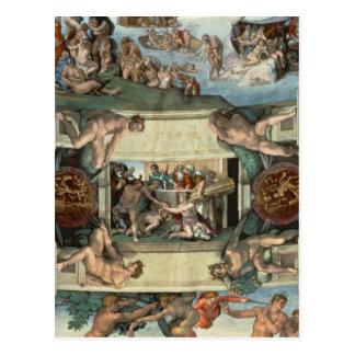 Techo de la capilla de Sistine Postal