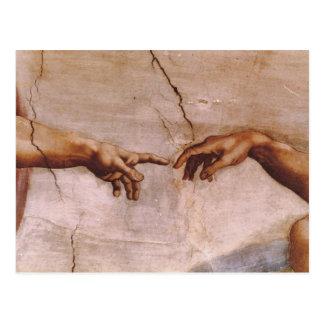 Techo de la capilla de Sistine Tarjetas Postales