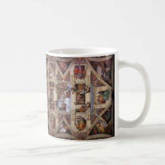 Techo de la capilla de Sistine Taza De Café