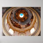 Techo de la catedral de San Pablo, Mdina Posters