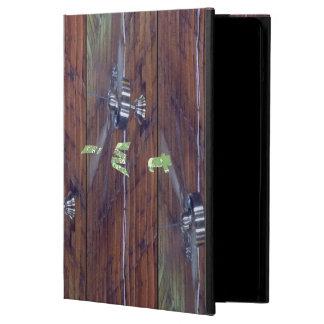 Techo de madera, fans del cromo