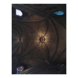 Techo de Notre Dame Plantillas De Membrete