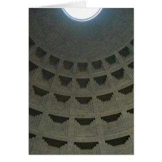 Techo del panteón (espacio en blanco) tarjeta