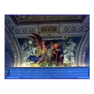 Techo en el museo de Vatican en Roma Tarjetas Postales