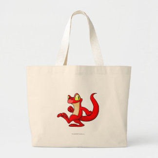 Techo Red Large Tote Bag