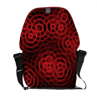 Techo Red Rings #1r Courier Bags