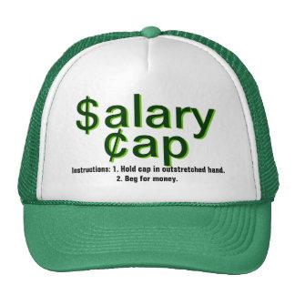 Techo salarial gorras
