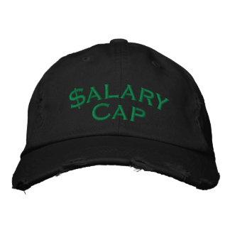 Techo salarial gorra de beisbol