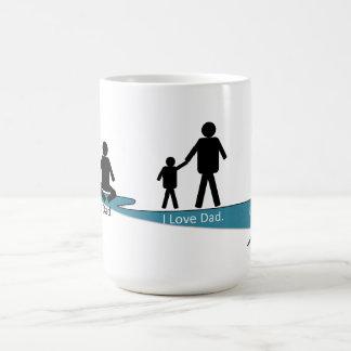 TechWords - I Love Dad Mug - Warm Relationship