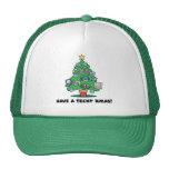 techy electronics chrismas tree hat