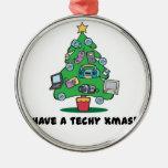 techy electronics chrismas tree christmas tree ornaments