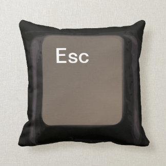 Tecla de escape almohada amortiguador oscuros del