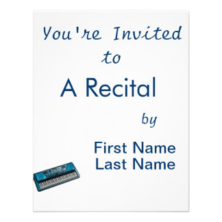 teclado blue png electrónico invitacion personal