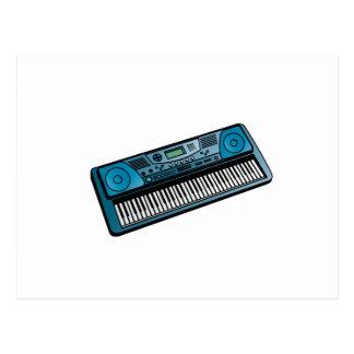 teclado blue png electrónico postal