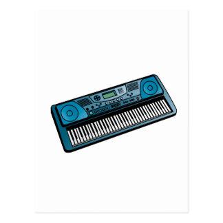 teclado blue png electrónico postales
