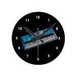 teclado blue.png electrónico relojes de pared