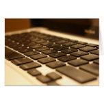 Teclado de ordenador del mac felicitaciones